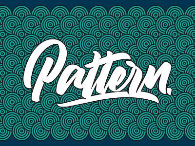 Pattern (Tutorial in description) script branding illustration tutorial illustrator angeloknf inspiration logo type calligraphy typography lettering