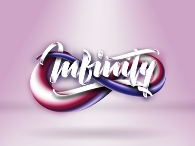 Infinity (Tutorial on description) typeface 3c photoshop illustrator tutorial design branding angeloknf inspiration logo calligraphy type typography lettering