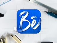 Behance lettering redesign