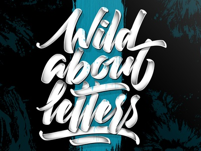 Wild about letters