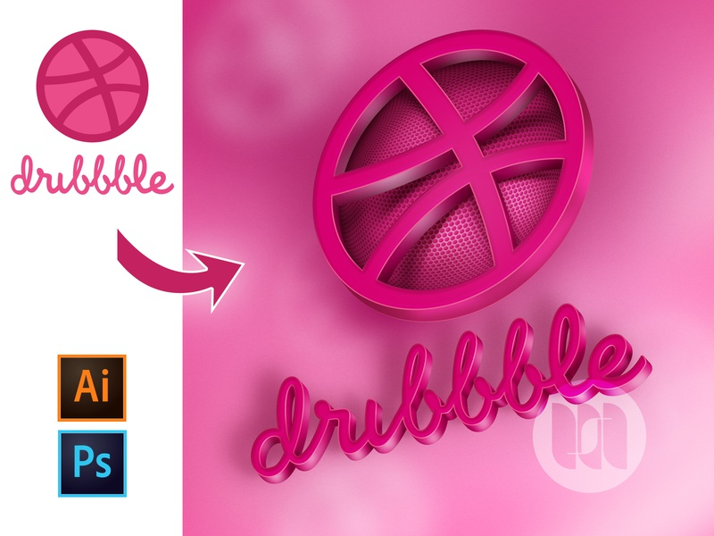 New tutorial is out! How to make a 3D logo in Photoshop