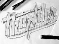"Logotype ""Thunder"" -"