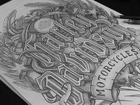 Sketch - Harley-Davidson