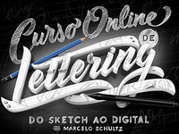 Curso Online de Lettering - Do Sketch ao Digital