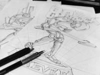 80's Rock Forever - Sketch