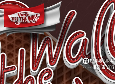 "Vans ""Off the wall"" design - small detail"