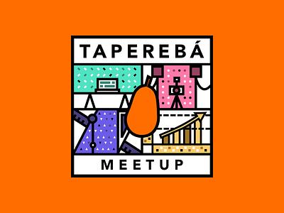 Taperebá Meetup Logo group meetup logo