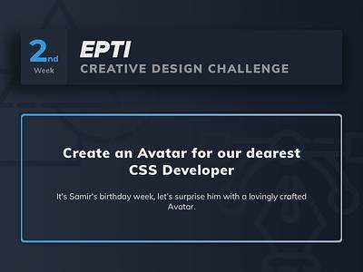 EPTI Creative Design Challenge - Week 02 challenge epti