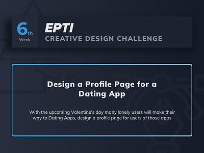EPTI Creative Design Challenge - Week 06 challenge epti