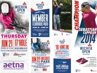 Wichita Open Tickets/Signage