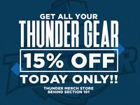 Wichita Thunder Merch Store Graphic