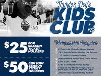 Wichita Thunder - Kids Page Web Redesign
