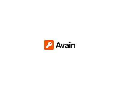 Avain.app pwa app design logo flat authentication javascript