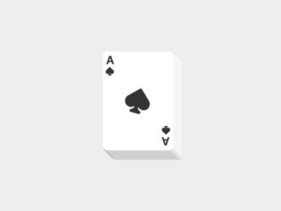 The new Deck of Cards with multiplayer! logo design flat playing cards cards design live multiplayer javascript cards playing