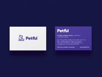 Business card for Petful