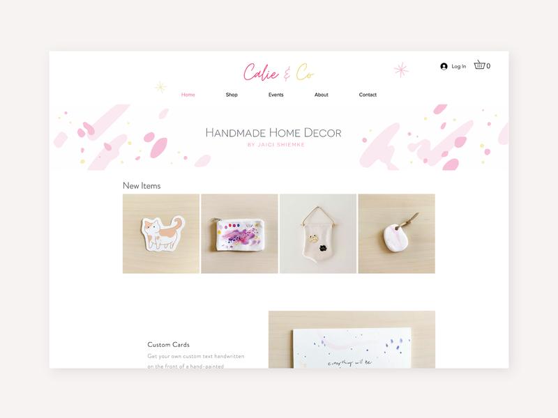 Calie & Co Website