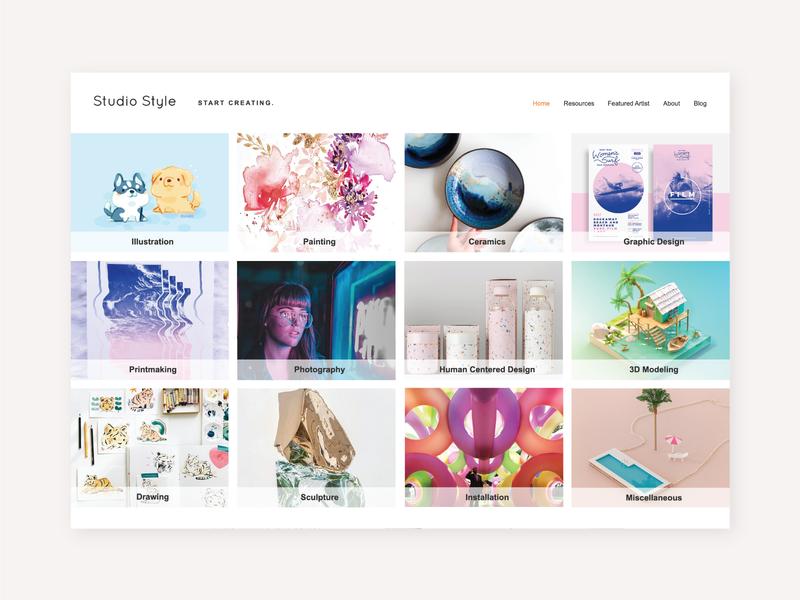 Studio Style Website