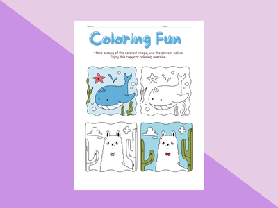Coloring page illustrations for kids page illustration coloring page cover design logo illustration ebookcover ebook branding book design book cover