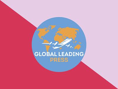 Global leading press logo design book cover ebook logo ui illustration ebookcover book design design cover branding