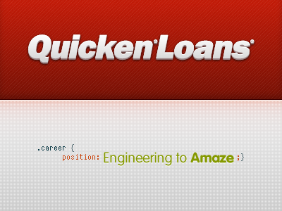 Joining the team hired job quicken frontend fireworks