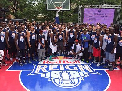 Red Bull Reign Logo red bull reign basketball chicago throne sports logo branding
