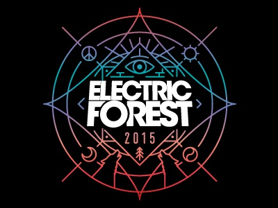 Electric Forest 2017 Sticker