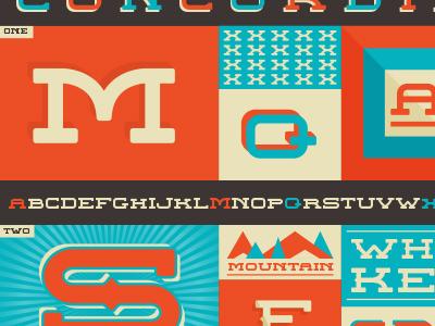 Concordia Type Poster