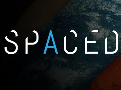 Spaced Logo and Landing Page