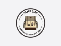 Camp Life Icon/Patch