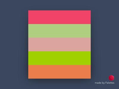First Test of Fallettes falettes rimbunesia madebyfalettes palette app mac color