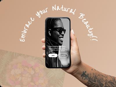 Native-Hearts V2 minimal web app typography branding vector ux ui illustration design