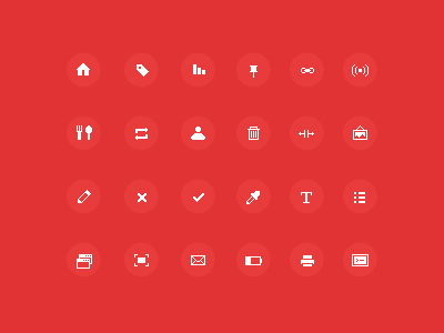 Sharp pixel-icons (FREE) psd free icons pixel sharp