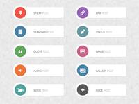 Retina Post Format Icons [FREE]