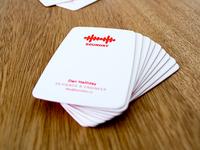 Soundry Business Cards