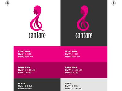 Cantare Colour Sheet colours brand cantare