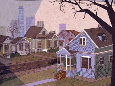 Victorian Neighborhood