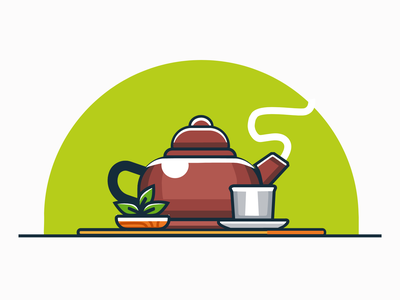 Tea abstract food travel app app design minimal graphic design branding logo icon art ui