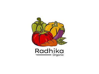 Organic Trademark fruit illustration branding logo app ux vector illustration ui minimal art icon