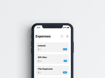 Split expenses app split expenses flat app ux ui design