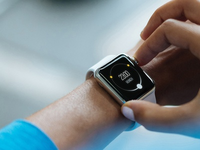 Onetime for Apple Watch onetime lead concept design watch app design fluid gmbh apple apple watch