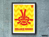 Helado Negro Poster