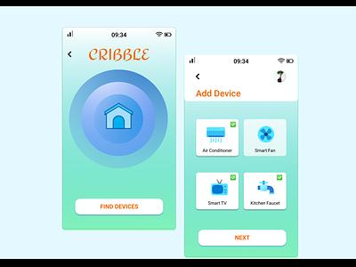 DailyUI Home Monitoring Dashboard dailyui designers design ui