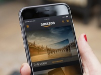 Redesign concept for Amazon (unofficial for IOS)