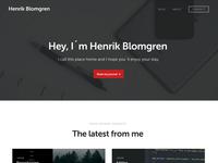Henrik Blomgren 2016 Design