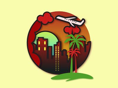 SUMMER design illustartion adobe illustrator 2021 cc graphic design