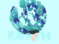 Earth - Swirls