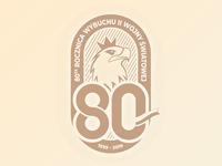 WWII -  80 year logo