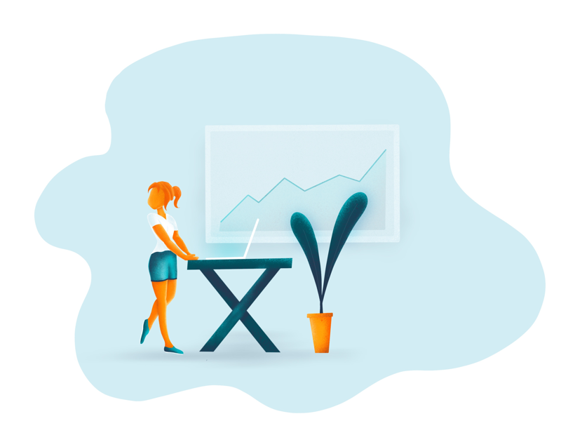 Marketing people marketing illustration ui ux