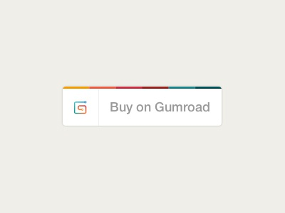 The New Gumroad Button  gumroad button