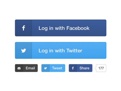 Gumroad Social Buttons twitter facebook button email